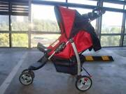 Foldable Pram - Compact Stroller - Up to 15 kg with safety brakes Flemington Melbourne City Preview