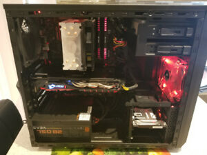 Gaming Computer PC Desktop AMD RX 480 8GB Intel i5-6600k