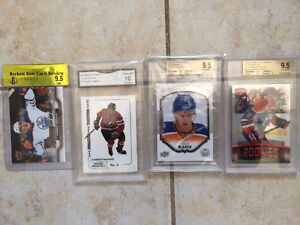 LOOK >> CONNOR McDAVID ROOKIE CARDS..$550 to $650 Each