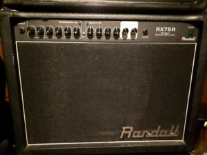 Randall RX75R & foot switch...$200