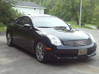 2007 Infiniti G35 Coupe / Sports package