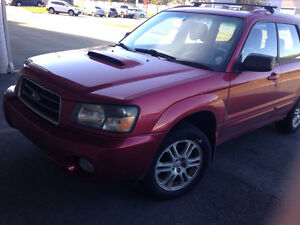2004 Subaru Forester Turbo xt SUV, Crossover