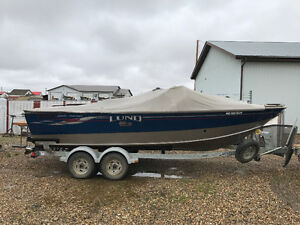 2008 Lund 2000 ITS Fisherman 20 foot 60th Anniversary Edition