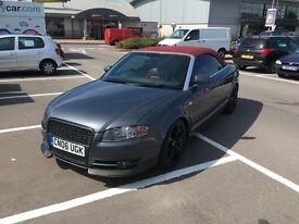 Summer Fun Audi A4 convertible S-line with new MOT