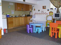limited spaces in licensed home daycare- South End
