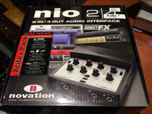 Novation Nio 2in/4out Audio Interface