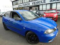 2006 Seat Ibiza 1.2 Reference - Blue - Long MOT 2017 + Platinum Warranty!