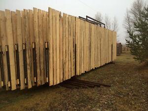 Free standing panels / livestock equipment