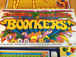 BONKERS Vintage 1978 Parker Brothers Game