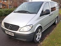Mercedes-Benz Vito 111 CDI LWB + DUAL LINER + DIESEL + MANUAL + FSH
