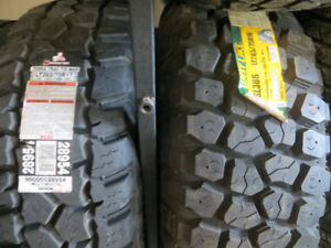 CAR AND TRUCK TIRES SOLD IN SETS OF 4