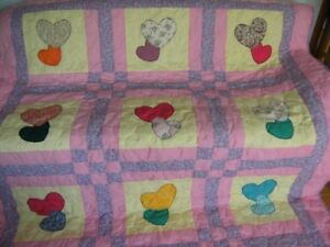 3 brand new handmade quilts