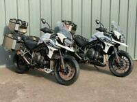 TRIUMPH TIGER 1200 XCX and XRX ON PROMOTION