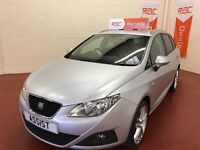 SEAT IBIZA FROM £0 DEPOSIT-POOR CREDIT-WE FINANCE-TEXT 4CAR TO 88802