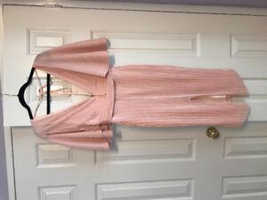 Kimono pink dress