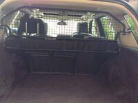 Freelander2 Land Rover genuine dog guard/ cargo barrier