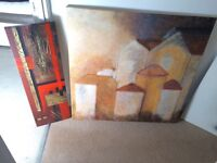 3 pictures / canvases / paintings / prints