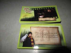 HARRY POTTER COLLECTOR CARDS (64), GOOD CONDITION Stratford Kitchener Area image 2