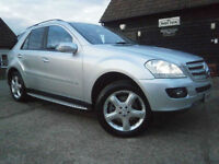 05 MERCEDES-BENZ ML 500 V8 SPORT 4X4 WAGON 56K FSH JUST SERVICED NEW MOT SUPERB