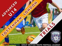 U13 and U14 Football Trials - Tottenham - London (Free trial for new players)