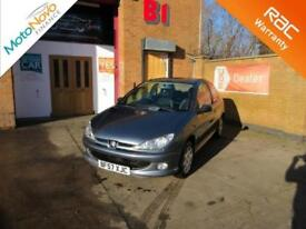 2007 Peugeot 206 1.4 Look Manual Hatchback in Grey Cheap Insurance
