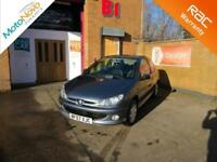 2007 Peugeot 206 1.4 Look Manual Hatchback in Grey Cheap Insurance