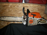 20 inch stihl chainsaw in great working condition