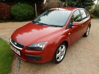 CHEAP CAR - 2008 08 FORD FOCUS 1.8 ZETEC CLIMATE TDCI 5D 114 BHP DIESEL