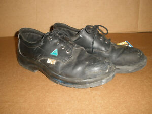Men's STEEL-TOE Black Shoes, Size 13 London Ontario image 3
