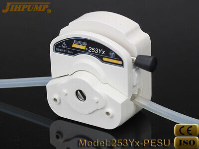 Quick Load Peristaltic Pump Head Yz25 With Silicon Tube Easy Replace Food Grade