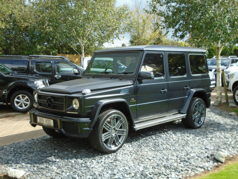 Mercedes G Wagon 5.5 V8 Full Amg Look AMAZING CAR (SHOW CAR) G Wagen G Class G55