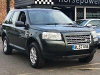 2008 Land Rover Freelander 2.2 TD4 S 5dr Diesel green Manual