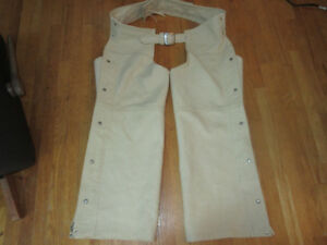 Sally Martin Custom made chaps - buttersoft leather Size XXL