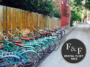 Linus Rental Fleet Sale / Vente de Vélos de Location Linus