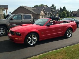 2007 Ford Mustang GT Convertible with only 15,000 kms
