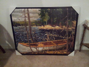 """Tom Thomson """"The Canoe"""" Regal Collection Giclee Canvas London Ontario image 3"""