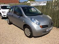 Nissan Micra 1.2 05 reg low mileage 1 year mot excellent condition £15 a week on finance