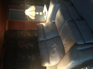 Leather all electric recliners Couch and Love seat