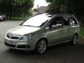 Vauxhall Zafira 1.9 Design**7 Seats**Panoramic Roof**Cambelt Done**4 new Tyres**