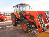 USED 2009 Kubota M110XDTC W/ Cab and Loader Moncton New Brunswick Preview