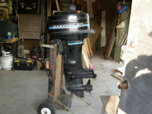 outboard for sale 40hp long  shaft $ 450.