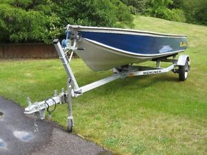 14 Ft. Harbercraft with OB & Trailer