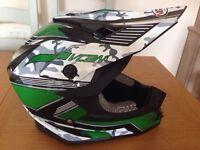 Vcan motocross helmet
