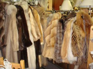 Winter jackets , Yukon parkas, fur coat and hats