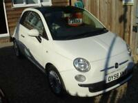 FIAT 500 LOUNGE 2008 Petrol Manual in White