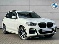 2019 BMW X3 X3 xDrive20d M Sport SUV Diesel Automatic