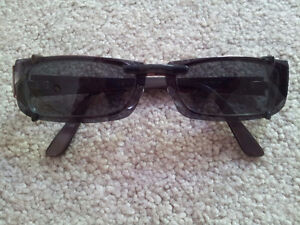 Gucci Eye Glass Frames with Sunglass Clip On London Ontario image 3
