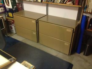 2 legal size file cabinet
