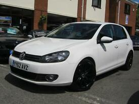 2012 62-Reg VW Golf GT 2.0TDI ( 140ps ),CANDY WHITE,57,000 MILES,GREAT SPEC!!!!