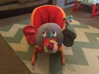 Mamas & papas elephant rocking horse